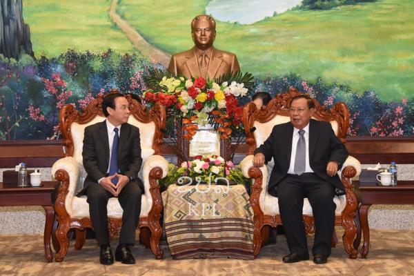 Phối hợp hiệu quả giữa hai Văn phòng Trung ương Đảng Việt Nam - Lào