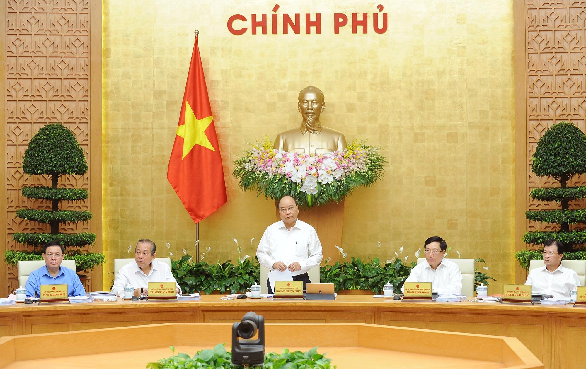 Chính phủ họp phiên chuyên đề về xây dựng pháp luật
