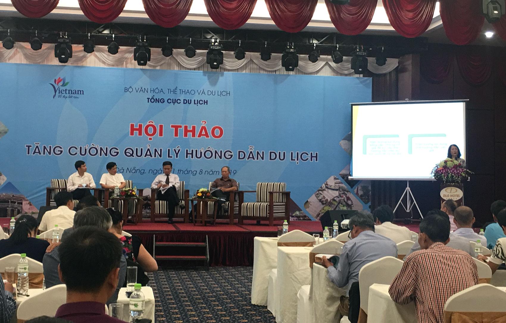 Hướng dẫn viên du lịch Việt Nam vừa thiếu vừa yếu