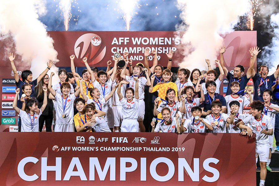 Vô địch Đông Nam Á: Đội tuyển bóng đá nữ được thưởng 500 triệu đồng