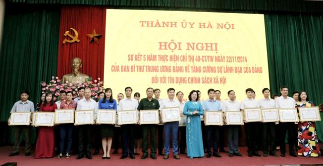 Hà Nội đi đầu về tín dụng chính sách từ cơ chế đặc thù riêng có