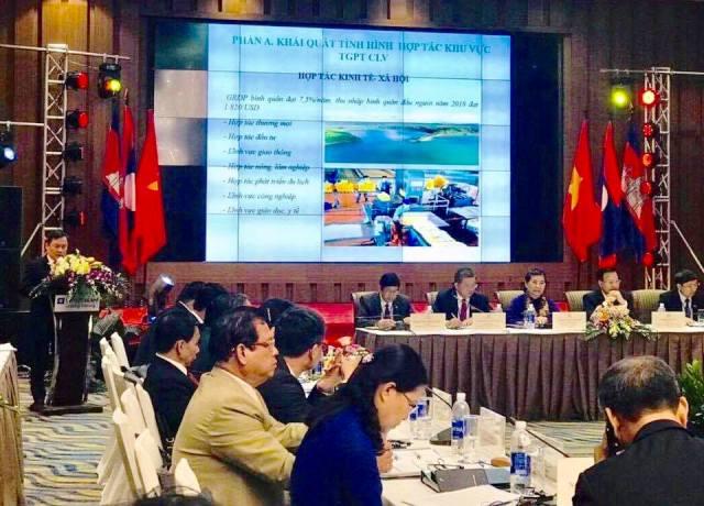 Phát huy vai trò khu vực tam giác phát triển Campuchia – Lào – Việt Nam (CLV)