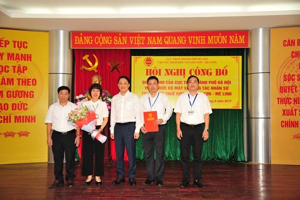 Hà Nội: Hợp nhất 3 chi cục thuế