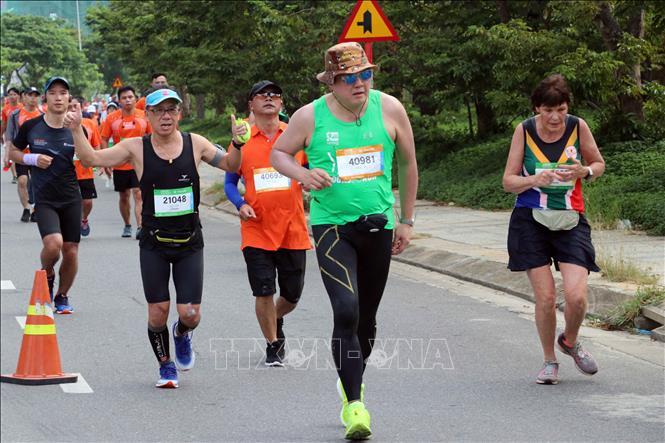 Tranh tài tại Cuộc thi Marathon quốc tế Đà Nẵng 2019