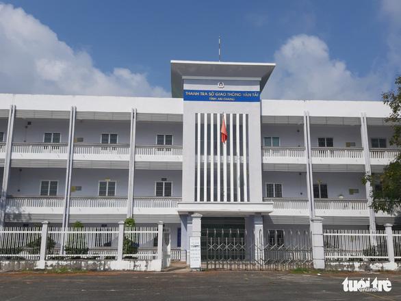 Kỷ luật Phó chánh Thanh tra Sở Giao thông Vận tải tỉnh An Giang