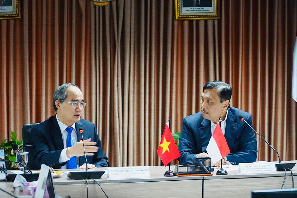TP. Hồ Chí Minh muốn hợp tác với Indonesia về phát triển đô thị bền vững