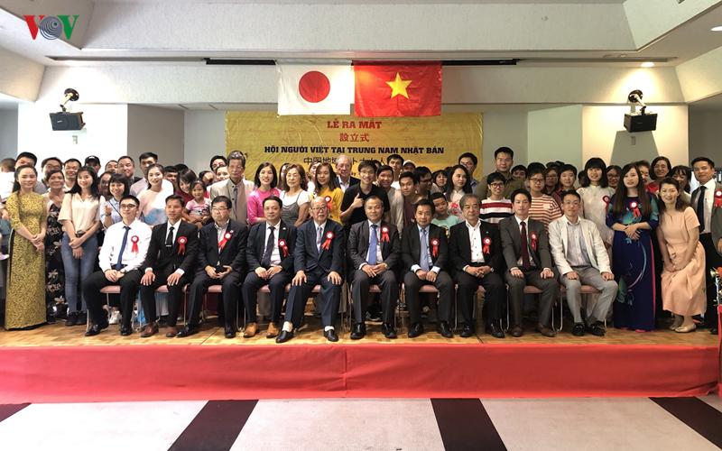 Thành lập Hội người Việt Nam tại khu vực Trung Nam Nhật Bản