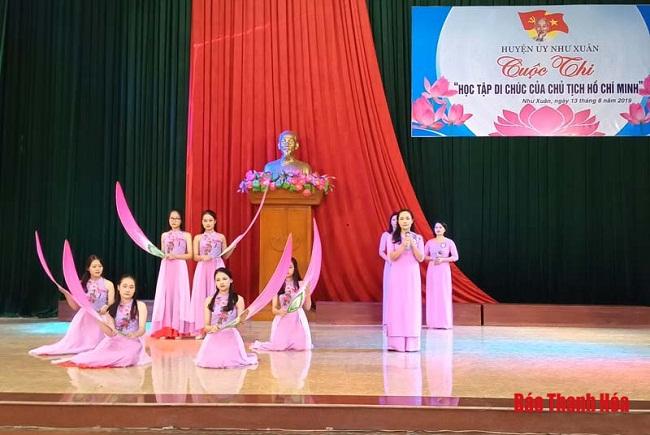 Tạo sức lan tỏa trong học tập và làm theo tấm gương đạo đức Hồ Chí Minh