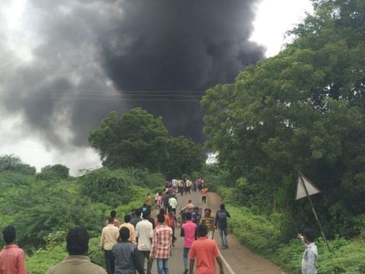 Ấn Độ: Nổ nhà máy hóa chất, hơn 60 người thương vong