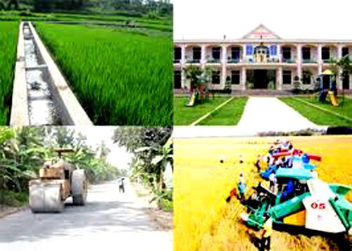 Công nhận 3 huyện thị đạt chuẩn nông thôn mới