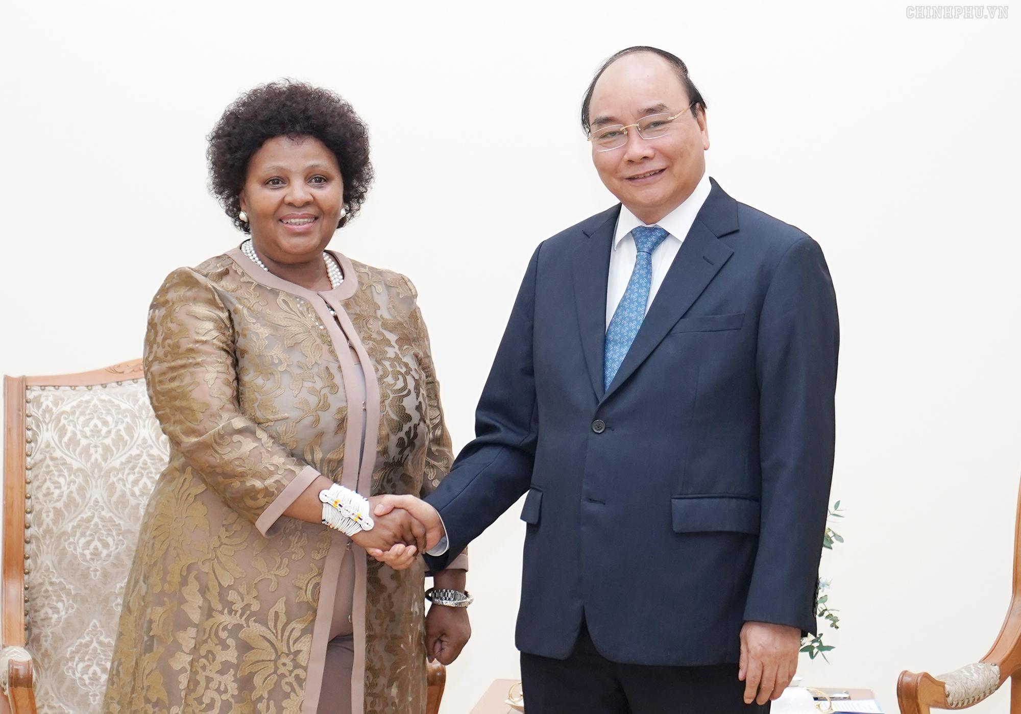 Quan hệ truyền thống Việt Nam và Nam Phi đang phát triển tốt đẹp