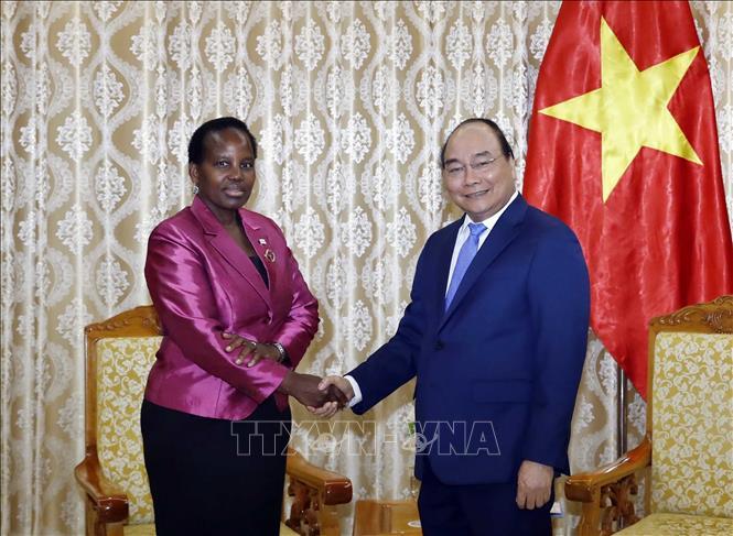 Thủ tướng tiếp Bộ trưởng Ngoại giao và Hợp tác quốc tế Botswana