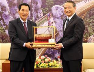 Đẩy mạnh hợp tác giữa Đà Nẵng với các địa phương của Lào