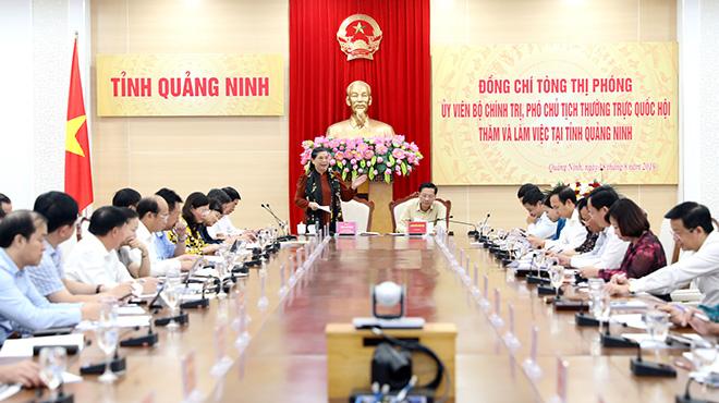 Quảng Ninh phải trở thành cực tăng trưởng mạnh ở vùng Đông Bắc