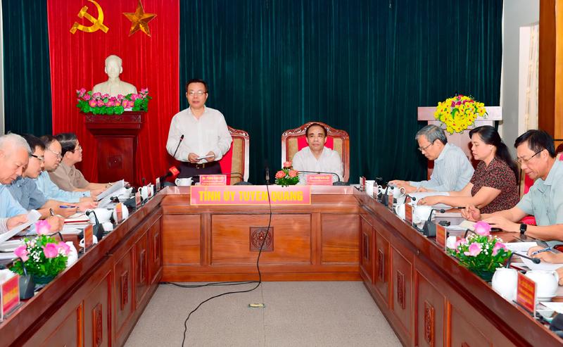 Tuyên Quang cần chú trọng đào tạo nhân lực chất lượng cao các ngành kinh tế