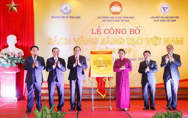 Vinh danh 74 công trình tiêu biểu trong Sách vàng Sáng tạo Việt Nam 2019