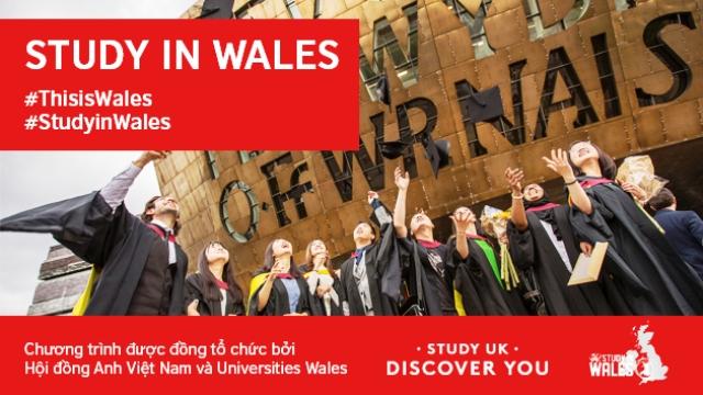 Hội đồng Anh khởi động chương trình truyền thông du học xứ Wales
