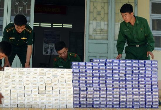 Tây Ninh dồn sức chống buôn lậu, hàng giả