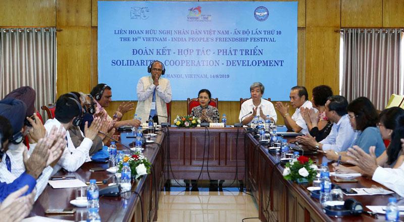 Tăng cường sự hiểu biết, tình đoàn kết, hữu nghị, hợp tác giữa nhân dân Việt Nam – Ấn Độ