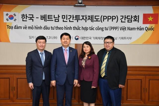 Khảo sát học tập kinh nghiệm tại Hàn Quốc về đầu tư theo hình thức đối tác công – tư (PPP)
