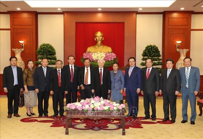 Quan hệ đoàn kết đặc biệt Việt Nam - Lào ngày càng phát triển