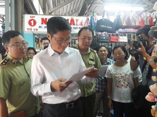 Kiểm tra, khảo sát thị trường tại TP. Hồ Chí Minh