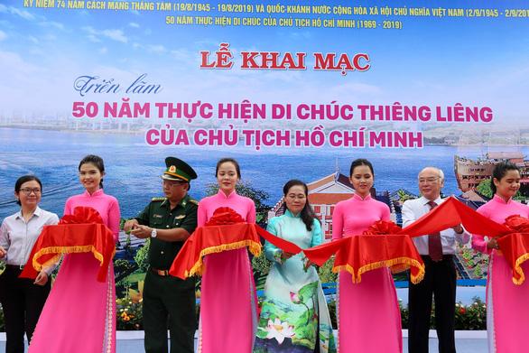Triển lãm 50 năm thực hiện Di chúc thiêng liêng của Chủ tịch Hồ Chí Minh