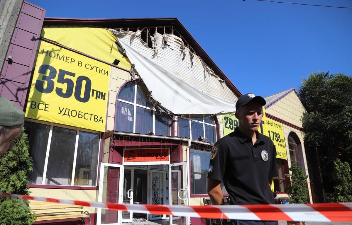 Cháy khách sạn tại Odessa, gần 20 người thương vong