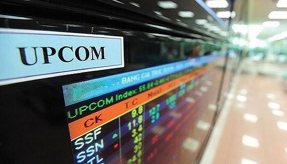 Giá trị giao dịch trên UPCoM tăng 20%