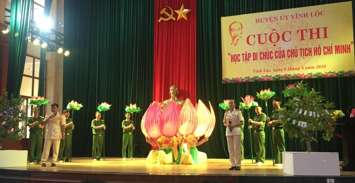 """Thanh Hoá:  Sức lan toả của Cuộc thi """"Học tập Di chúc của Chủ tịch Hồ Chí Minh"""""""