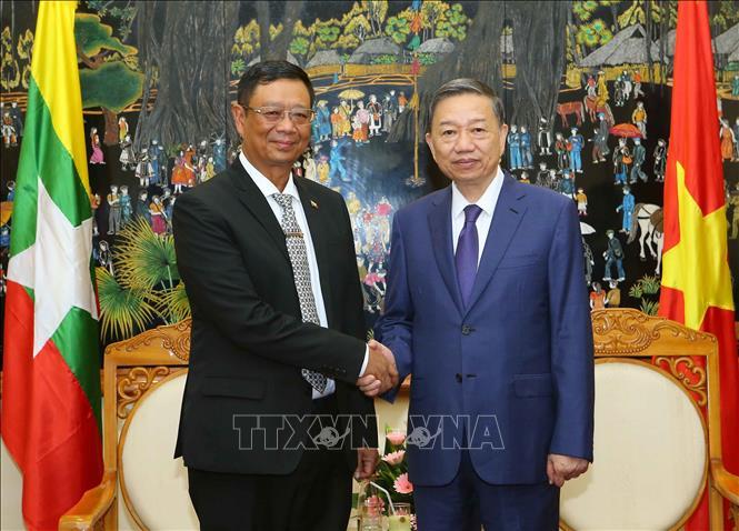 Việt Nam - Myanmar tăng cường hợp tác trong lĩnh vực an ninh