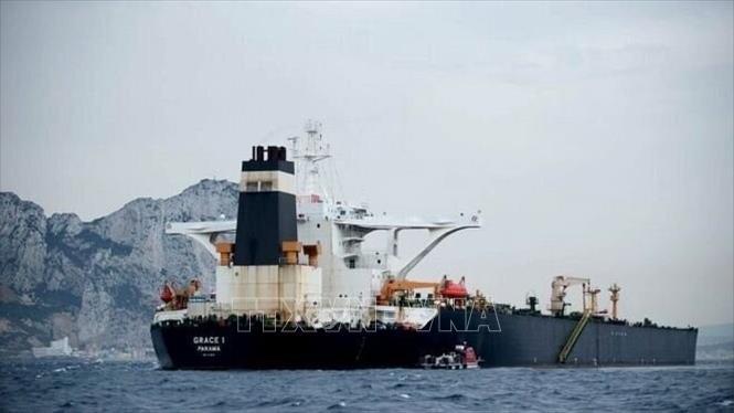 Căng thẳng vùng Vịnh: Tàu chở dầu Grace 1 của Iran đã rời khỏi Gibraltar
