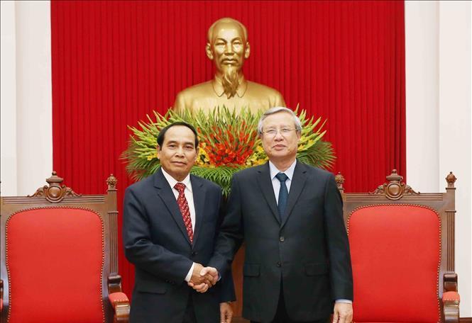 Tăng cường hợp tác giữa hai Ủy ban Kiểm tra và Thanh tra Chính phủ Việt Nam - Lào