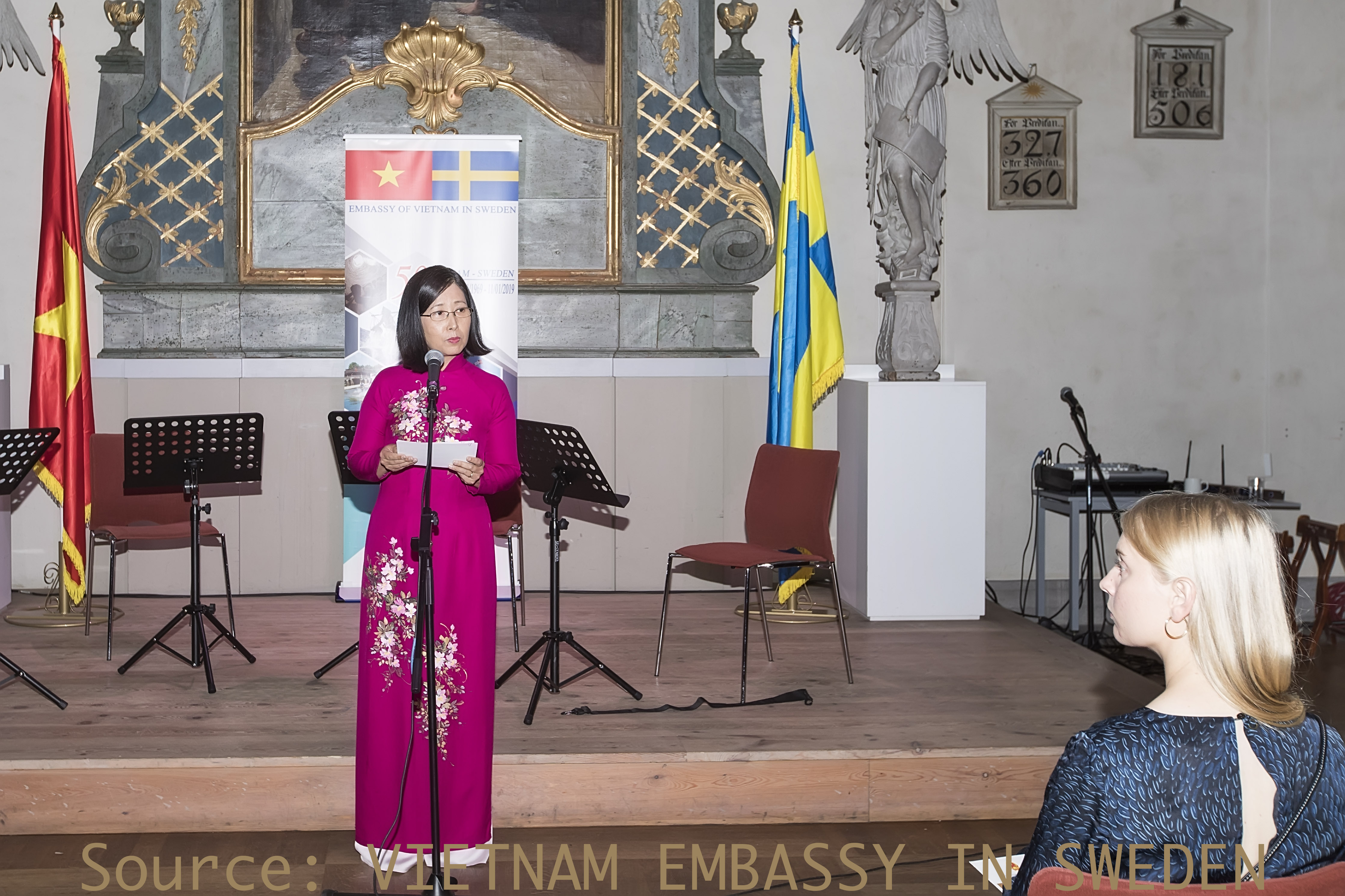 Âm nhạc gắn kết người dân Việt Nam với người dân Thụy Điển