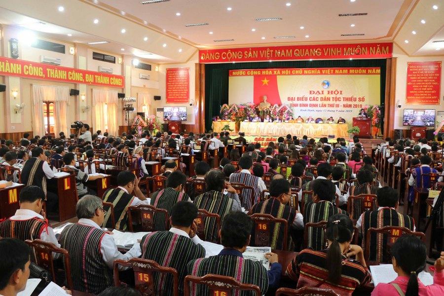 Đại hội Đại biểu các dân tộc thiểu số tỉnh Bình Định lần thứ III - năm 2019