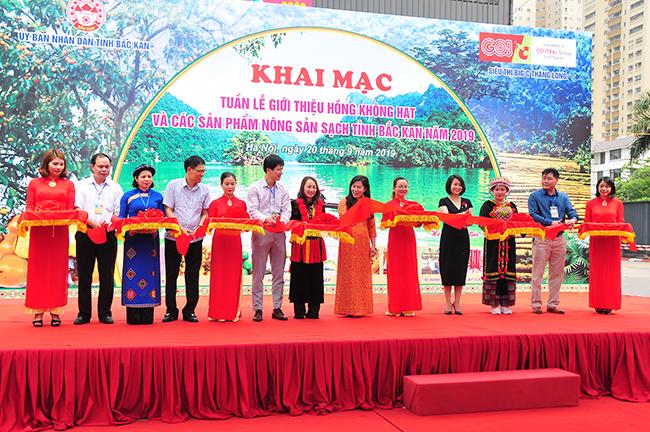 Hàng trăm sản phẩm nông sản sạch tỉnh Bắc Kạn đến với người dân Thủ đô