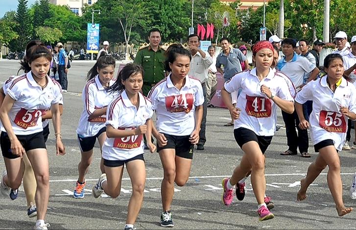 Trên 1.850 vận động viên tham gia Giải Việt dã truyền thống Báo Quảng Nam