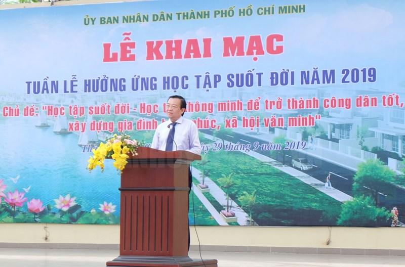 TP Hồ Chí Minh khai mạc Tuần lễ hưởng ứng học tập suốt đời