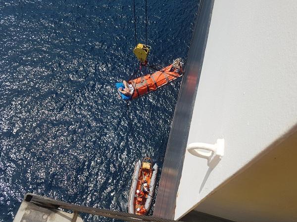 Kịp thời cứu nạn thuyền viên người nước ngoài
