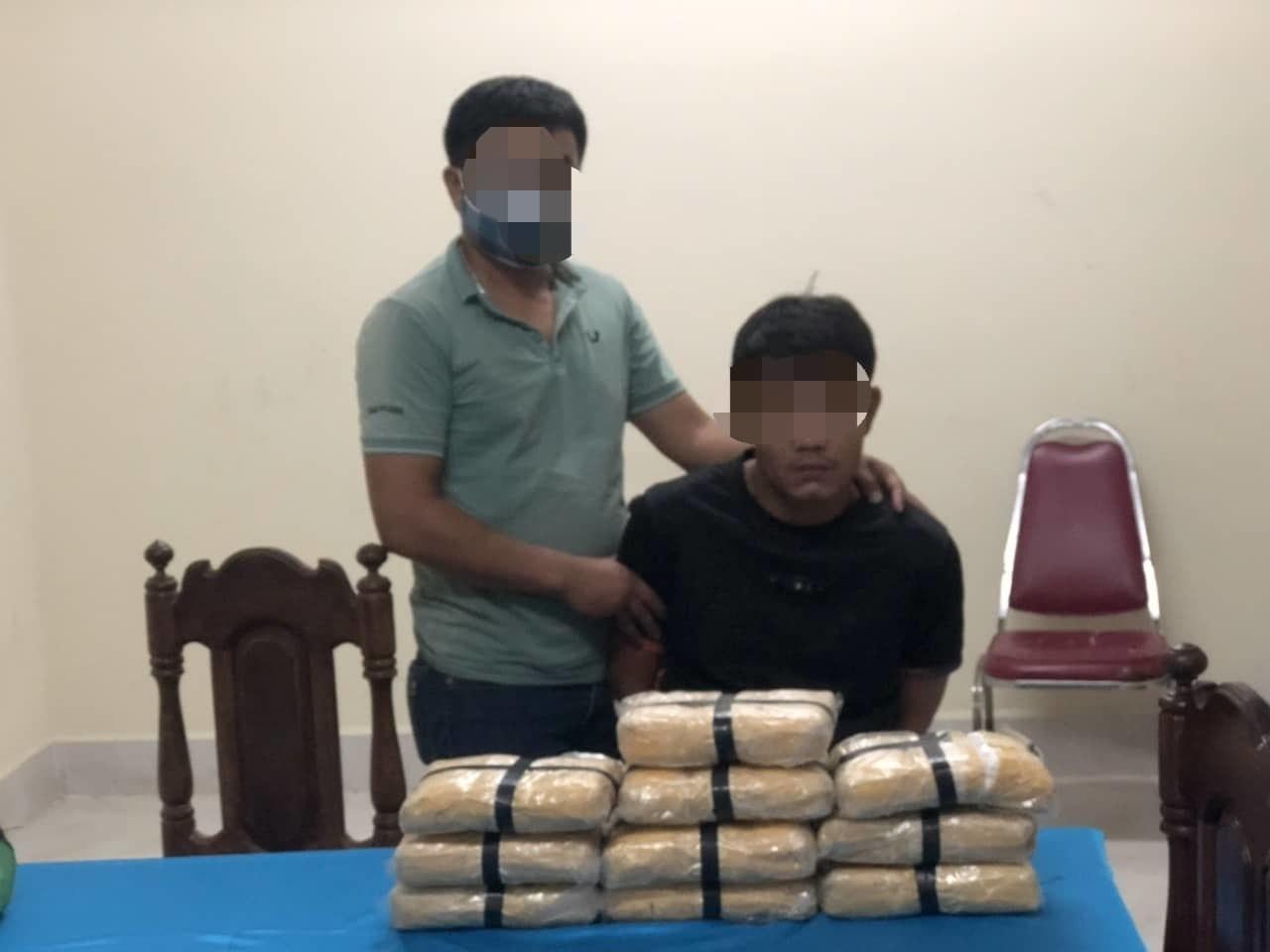 Quảng Trị: Bắt đối tượng chuyển 60.000 viên ma tuý