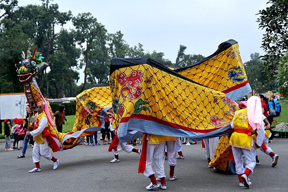 15 quận, huyện tham gia Liên hoan múa rồng Hà Nội lần thứ 5