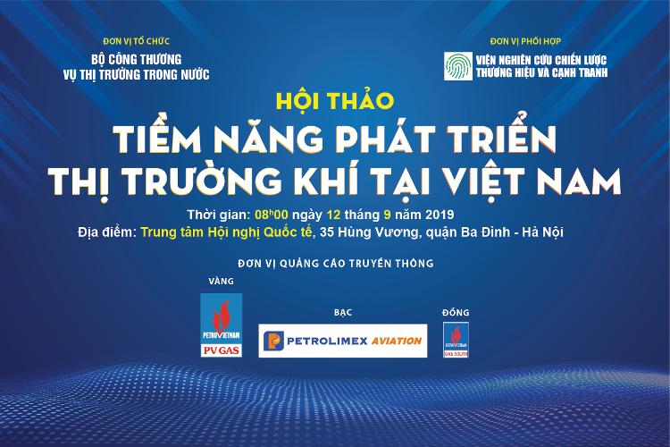 Hội thảo: Tiềm năng phát triển thị trường khí tại Việt Nam