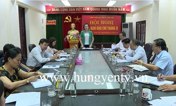 Hưng Yên tăng cường tuyên truyền chuẩn bị Đại hội Đảng các cấp