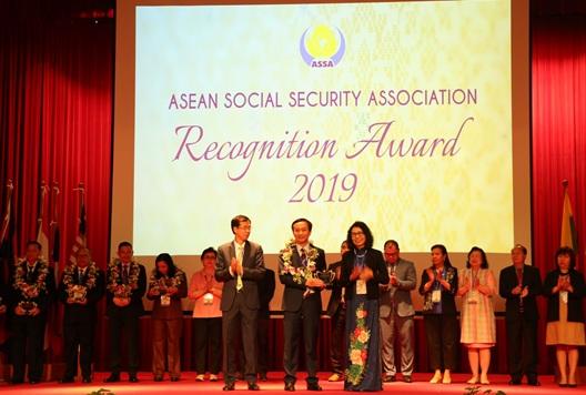 BHXH Việt Nam nhận Giải thưởng ASSA về cải cách thủ tục hành chính
