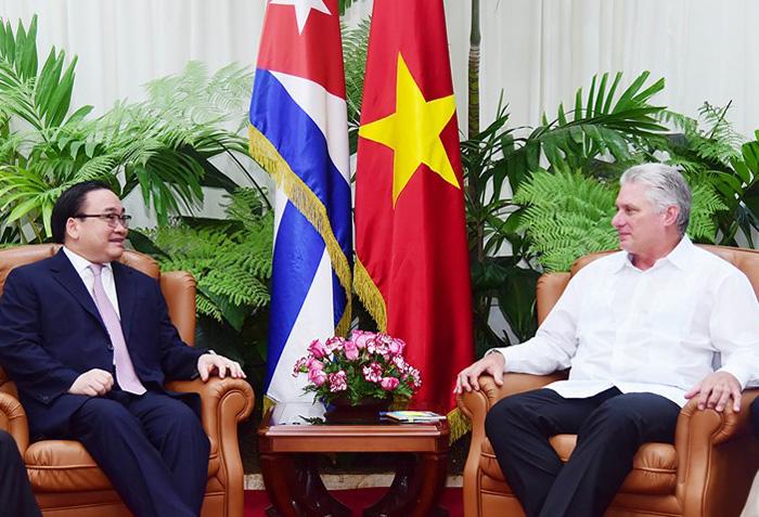Bí thư Thành ủy Hà Nội thăm, làm việc tại Cuba và Pháp
