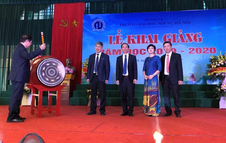 Trường Đại học Nội vụ Hà Nội khai giảng năm học mới