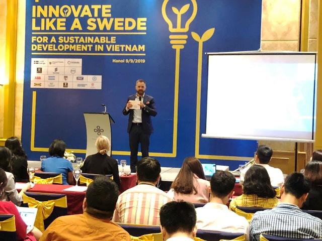 """Phát động cuộc thi """"Sáng tạo như người Thụy Điển 2019"""" tại Hà Nội"""