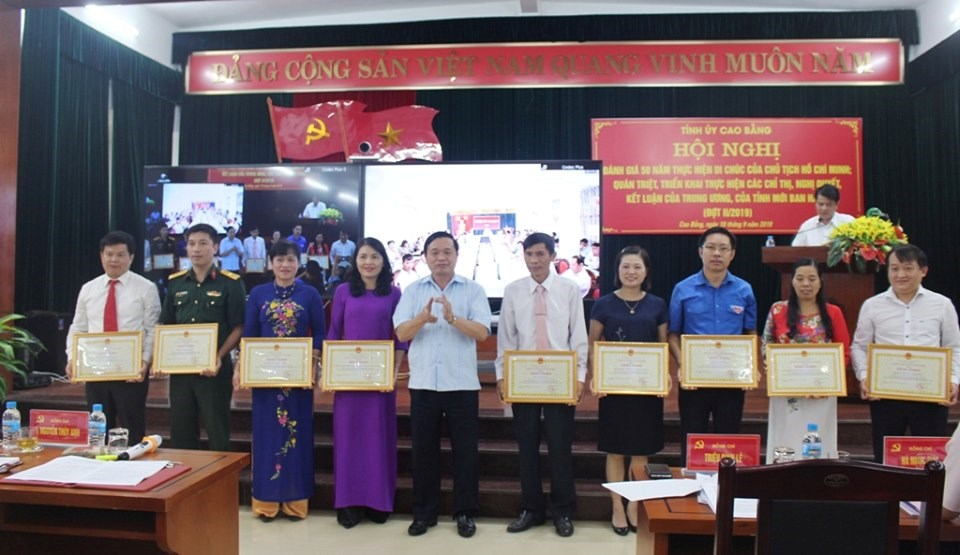 Cao Bằng: Phát huy mạnh mẽ các phong trào thi đua yêu nước