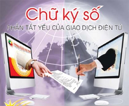 Đề xuất về sử dụng chữ ký số trong giao dịch điện tử