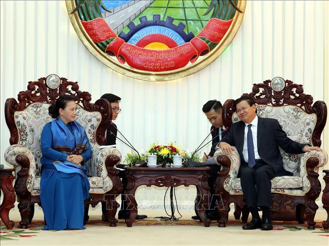 Việt Nam luôn ủng hộ công cuộc đổi mới ở Lào